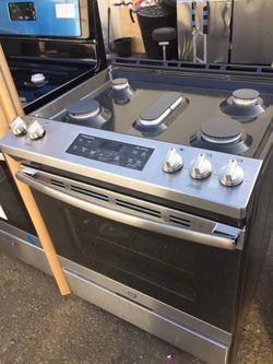 GE Stove 5 burner mint Condition Thumbnail