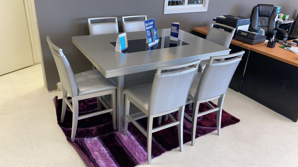 ✨🥰Tommy 7pc Diningroom set👍SAME DAY DELIVERY😍Just $39 Down✨