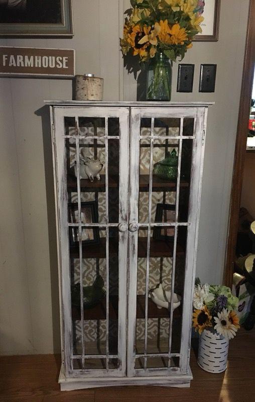 Farmhouse Curio Cabinet Pantry