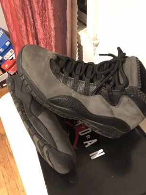 Jordan 10 size 8.5 w/ Hoodie for Sale in Roseville, MI