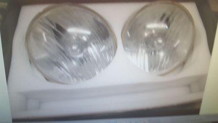 Jeep wrangler stock fog lights and headlights Thumbnail
