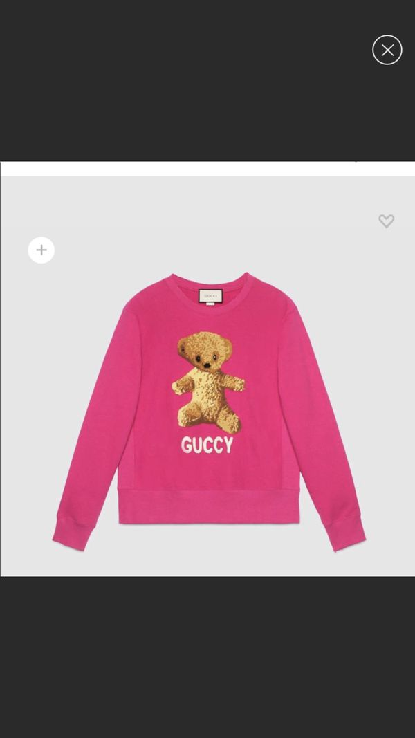 b43402a984f Brand new pink Guccy teddy bear sweater for Sale in Chicago