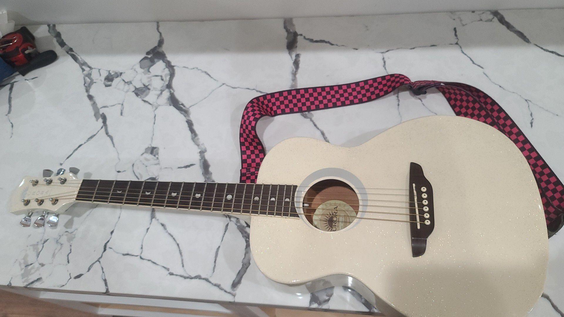 Guitar aurora by luna