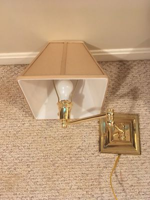 Wall lamps with dimmer control for Sale in Fairfax, VA