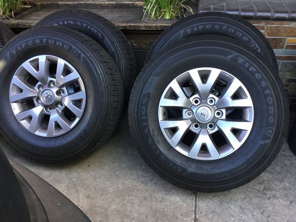 245 75 16 >> 245 75 16 Toyota Tacoma Factory Wheels And Tires For Sale In San