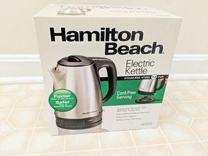 Brand New Hamilton Beach Electric Kettle for Sale in Aldie, VA