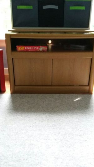 TV Stand with rotating top and cabinets for Sale in Maidens, VA