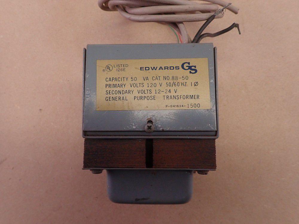 Power Transformer - Edward's 88-50 Heavy Duty