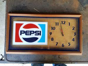 1980's Pepsi clock for Sale in TN, US