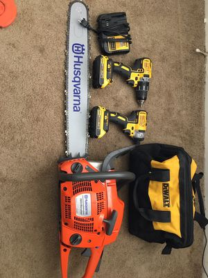 Read the add please this saw is a 460 rancher husqvarna brand new never used fresh for Sale in Baltimore, MD