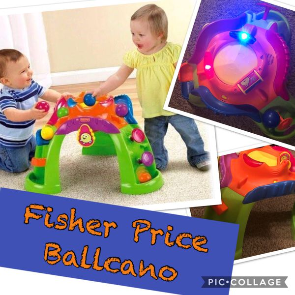 2f0a14818fe3 Fisher-Price Stand-up Ballcano Activity Center-Toddler Baby Toy ...