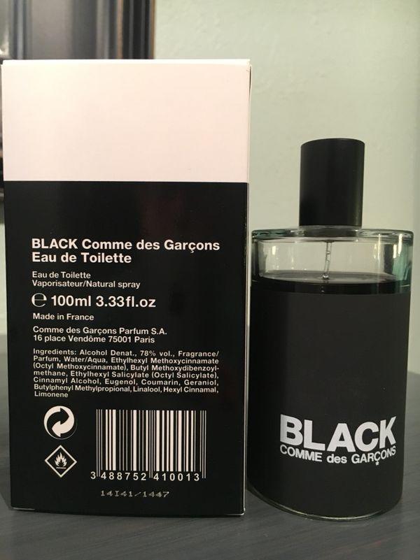 new cheap best value the best attitude Black by Comme Des Garçons Eau de Toilette for Men for Sale ...