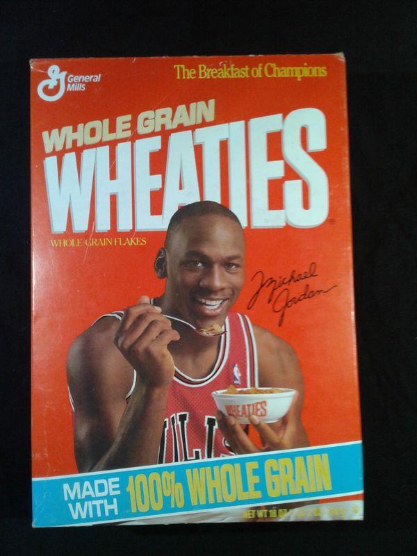 Michael Jordan Wheaties Box 1991 Chicago Bulls For Sale In Granite Falls Wa Offerup