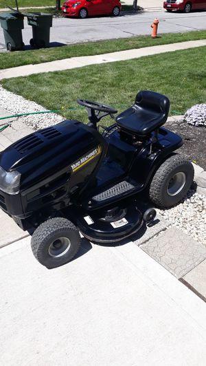 Photo Yard Machines by MTD 42 riding lawn mower
