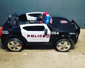 Photo Kid Trax dodge charger police car