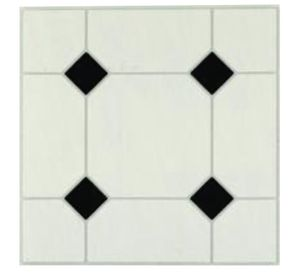Photo Armstrong Afton - Self-Stick Diamond Jubilee vinyl flooring pack of 45 pieces 12x12