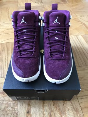 """Air Jordan 12 """" Bordeaux """" Size 5 for Sale in Silver Spring, MD"""