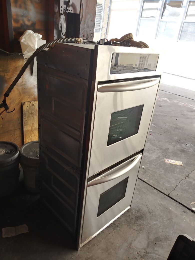 Double Electric Oven kitchenAid