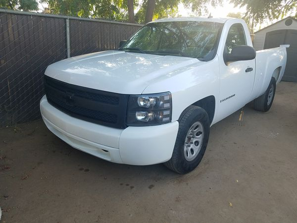 07 Chevy Silverado Clean Tittle V6 Long Bed For Sale In Fresno Ca Offerup