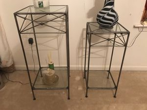Home decor - side table console set of 2 for Sale in Ashburn, VA