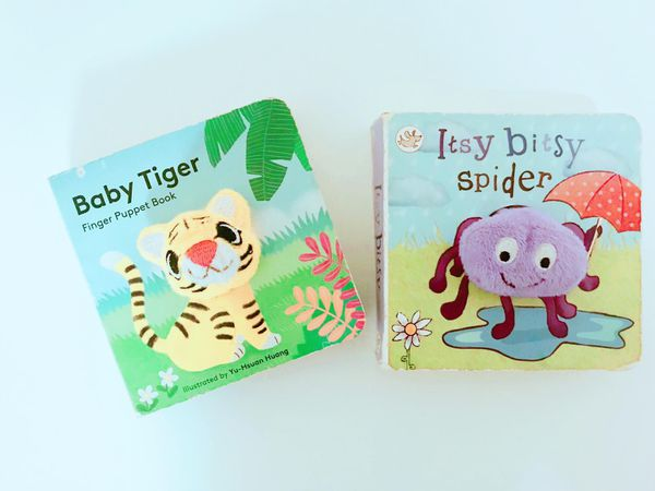 Baby Toddler Book with finger / hand puppet toy learn for Sale in San  Diego, CA - OfferUp