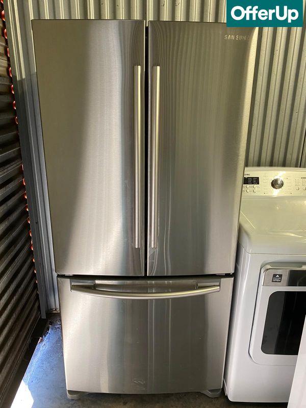 36 In Wide Samsung Refrigerator Fridge French Door 3 Door