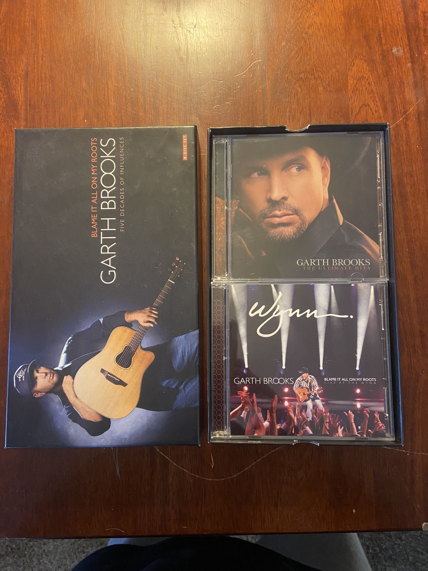 Garth Brooks 8 Disk Set (Blame It All On My Roots)