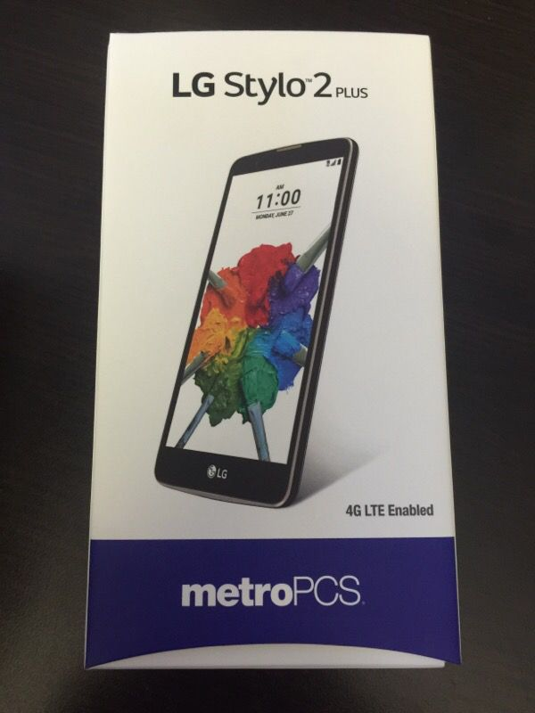 Metropcs LG stylo 2 plus brand new for Sale in Fremont, CA - OfferUp