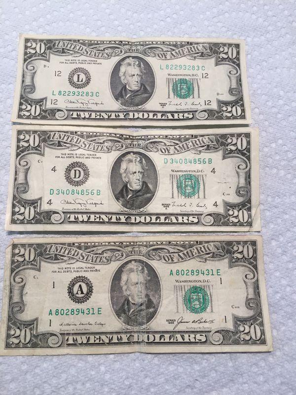 Old $20 bill for Sale in Saint Petersburg, FL - OfferUp