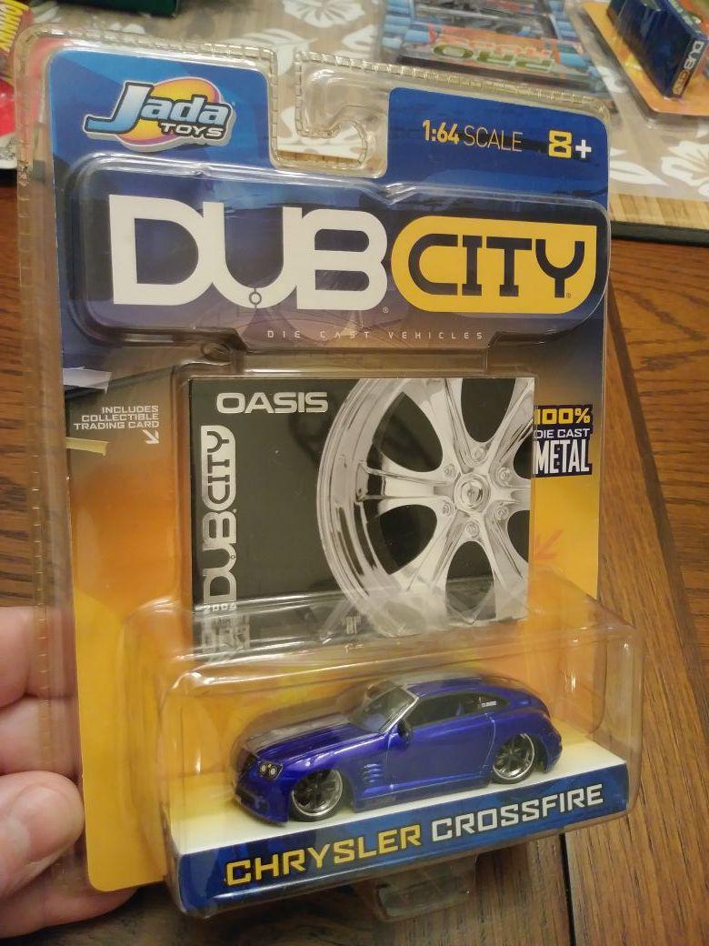 Dub City Chrysler Crossfire Diecast collectible car 1/64 like Hot Wheels Johnny lightning