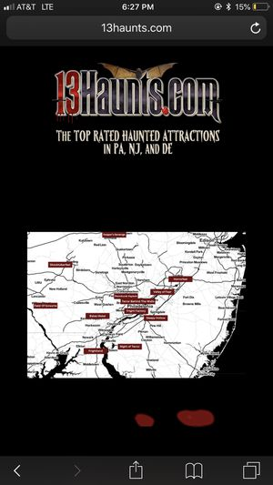 13 haunts complimentary tickets for Sale in Levittown, PA