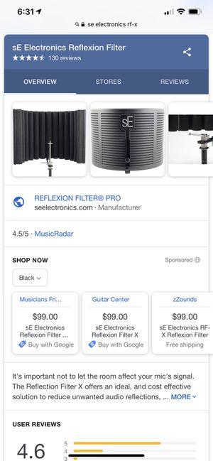 RF-X REFLEXION FILTER X for Sale in Washington, DC