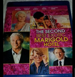 The second best exotic marigold hotel bluray movie NEW & SEALED for Sale in Wood Village, OR