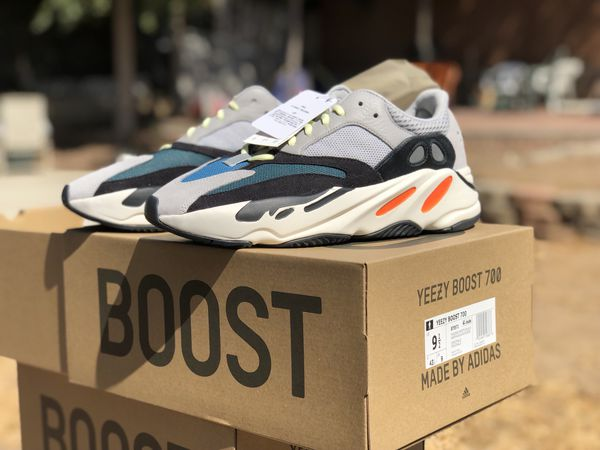 05cc53a806388 Adidas Yeezy boost 700 Wave runners size 9.5 sneaker for Sale in ...