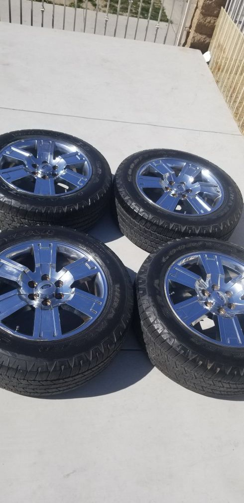 20 Inch Ford F150 Expedition Lincoln Navigator Rims Wheels Tires