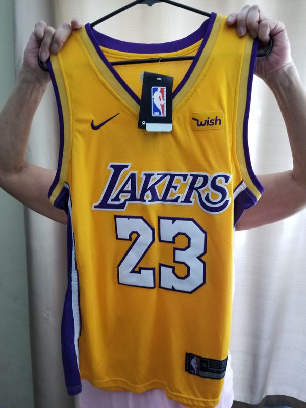 4e727f9b0 Brand New Lebron James LA Lakers size 50 large Nike stitched Jersey brand  new with the tags