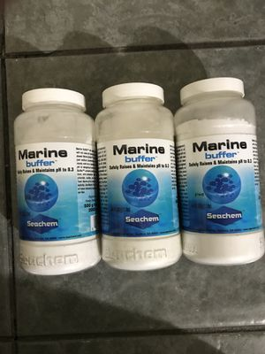 Seachem Marine Buffer 500 g. for Sale in Las Vegas, NV