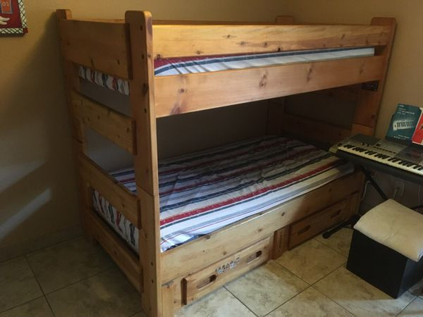 Bunk Beds Bunkhouse Wrangler By Trendwood Inc For Sale In