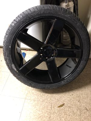 "24"" Dub baller wheels 6 lug fits ford trucks Expeditions, F150, Navigators etc for Sale in Washington, DC"