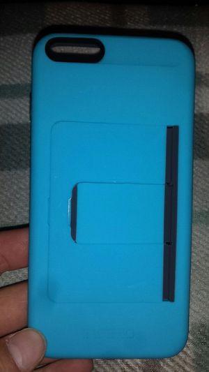 Incipio I phone 7 plus case robin egg blue w\stand&card holder for Sale in Murfreesboro, TN