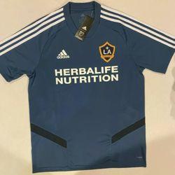 Adidas MLS LA Galaxy Soccer Jersey Mens Size Medium Brand New With Tags Thumbnail