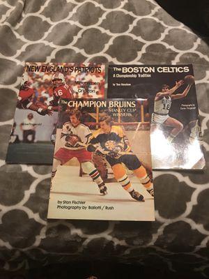 Boston sports books for Sale in Vienna, VA