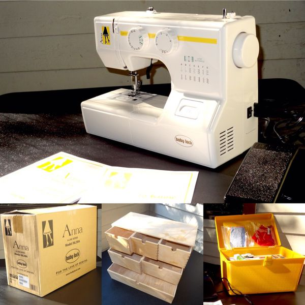 BABY LOCK ANNA ALine SERIES Model BL40A Sewing Machine For Extraordinary Babylock Anna Sewing Machine