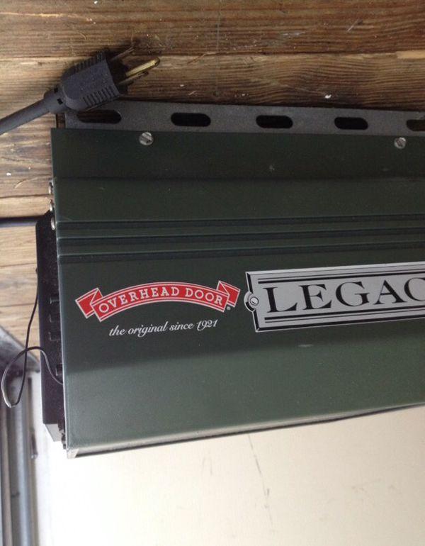Legacy Garage Door Opener Model 696cd B Dandk Organizer