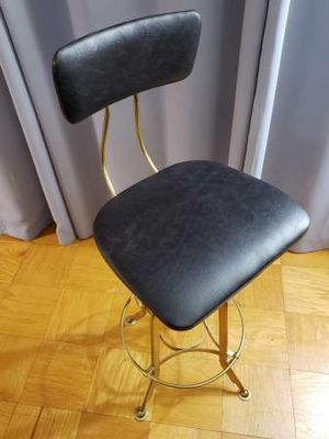 1940S VINTAGE TOLEDO LEATHER BAR CHAIR for Sale in Vienna, VA