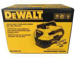 Photo NEW DEWALT DCV581H 2 GALLON MAX CORDLESS/CORDED WET/DRY SHOP VACUUM