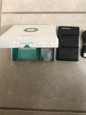 RavPower Canon Battery Charger for Sale in Atlanta, GA