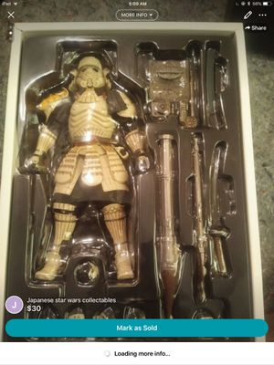 Japanese Star Wars collectibles for Sale in Carleton, MI