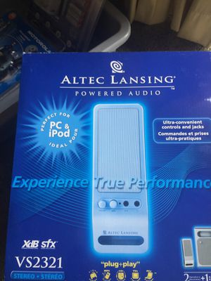 Alter Lansing powered audio. New in Box. for Sale in Colesville, MD