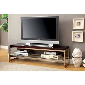 Champagne 60 inch TV Stand for Sale in Silver Spring, MD